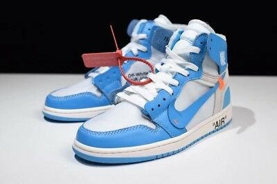 OFF WHITE X Nike Air Jordan 1 Retro High OG 'Powder Blue