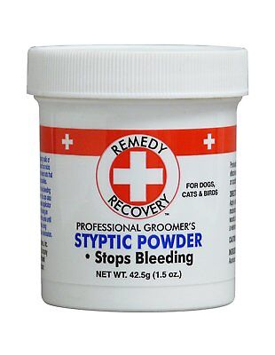Cardinal Laboratories Remedy and Recovery Professional Groomer's Styptic Powder