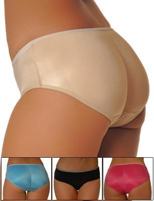 Women Padded Panty Booty Enhancer Thick Built-in Pads Butt Booster XS S M L 7012