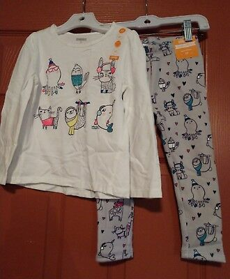 Gymboree Girls ice dancer 2 Piece Outfit Size 3T NWT
