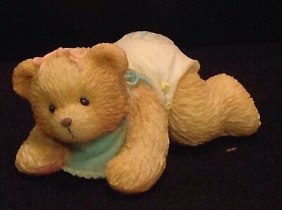 "ENESCO Cherished Teddies Betsey ""The First Step To Love"" Figurine #624896"