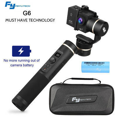 Feiyu G6 3-Axis Wi-Fi Bluetooth Handheld Gimbal Stabilizer for GoPro Hero 6/5/4
