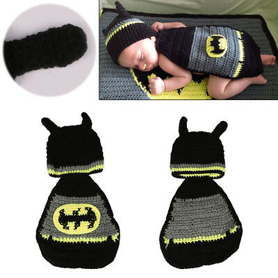 Baby Infant knit Crochet Hats Newborn Photo Prop Costume Photography Outfits Cap