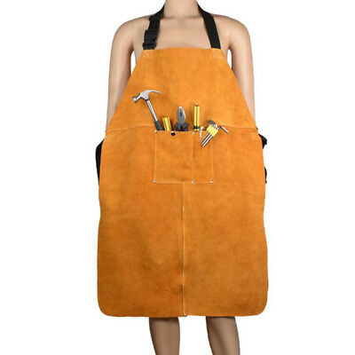 90x60cm Welding Apron Welder Heat Insulation Clothing Protection Work Bib