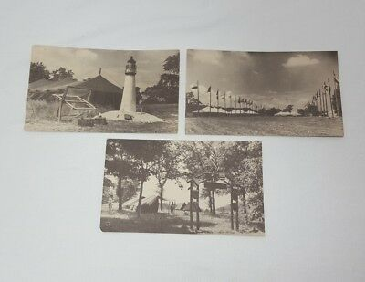 Official Boy Scout Post Cards, Three Different, Unused