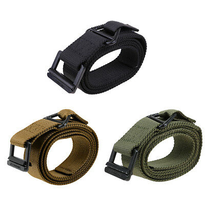 Tactical Alloy Buckle Belt Military Nylon Belt Training Belt Strap Width 4cm