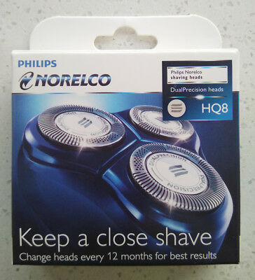 Set 3 Replacement Razor Shaver Heads Blade Cutter for Philips Norelco HQ8/52 New
