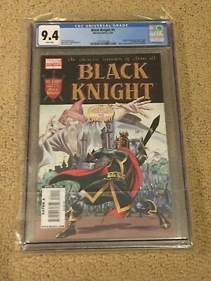 Black Knight 1 One Shot CGC 9.4 White Pages (Classic Cover!!)