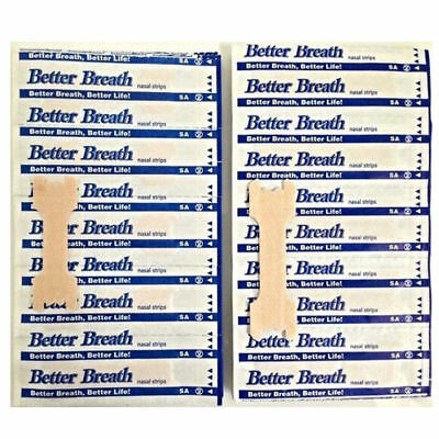 200 Large Better Breath Nasal Strips Anti Snoring To Breathe Right Stop Snoring