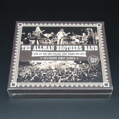 The Allman Brothers Band Live At The Cow Palace 1973 Featuring Jerry Garcia 3CD