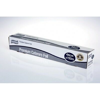 6 Rolls x PREMIUM HEAVY DUTY Aluminium Foil Catering Kitchen Salon 44cm X 150mt