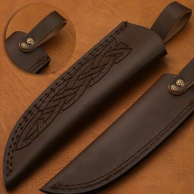 Beautiful Leather sheath fits 8inches 9 inches and 10 inches knives