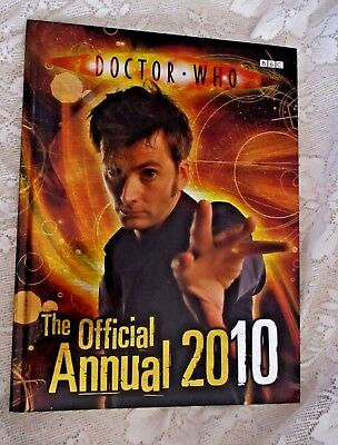 Doctor Who THE OFFICIAL ANNUAL 2010 - HC - Published Penguin Group - BBC
