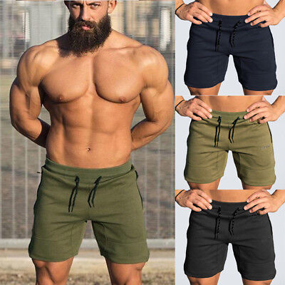 AU Stock Mens Shorts Casual Jogging Sport Pants Gym Trousers Jogger Sweatpant