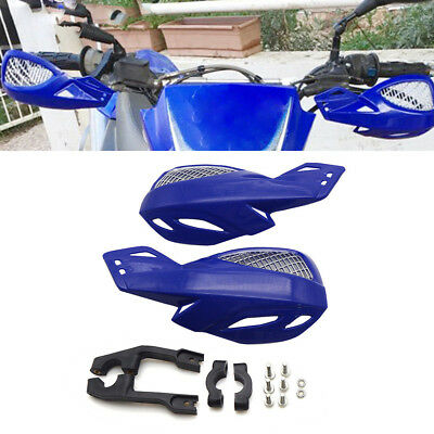 2Pcs Robust Plastic Motorcycle Hand Guard Protector For Dirt Bike 22mm Handlebar