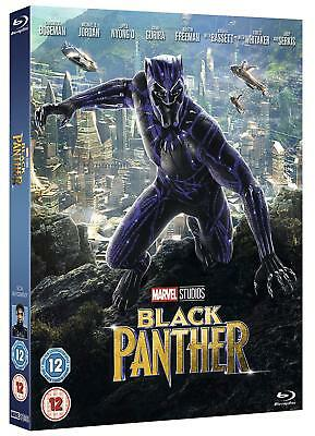 Black Panther [2018] (Blu-ray Region-Free)~~~RARE SLIPCOVER~~~NEW SEALED