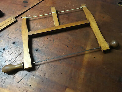 Vintage/Antique Marples Bow/Coping Saw made in Sheffield England