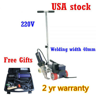 US Roofer RW3400 Automatic Roofing Hot Air Plastic Welder + 40mm Overlap Nozzle