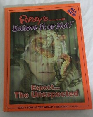 RIPLEYS BELIEVE IT OR NOT Expect The Unexpected Book # 3 Very Good Condition
