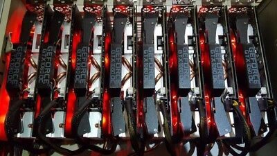 GPU Crypto Ethereum Mining Rig Computer, Mine Altcoin, ZCoin, Bitcoin, ZCash