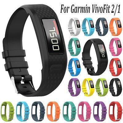 Silicone Sport Watch Band Strap Bracelet For Garmin VivoFit 2/1 Activity Tracker
