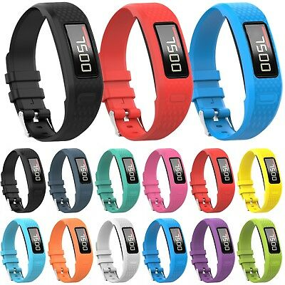 Soft Silicone Wristwatch Band Strap Bracelet For Garmin VivoFit 2/1 Smart Watch