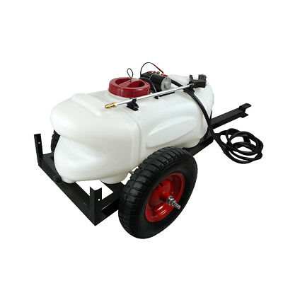 60L ATV Weed Sprayer Spot Spray Tank Trailer DC 12V Pump for Garden AU STOCK