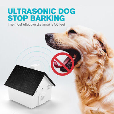 Sistema Antiabbaio ad Ultrasuoni Senza collare x cani Anti Barking Stop bark Dog