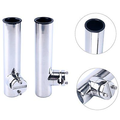 1PCS Special Design Stainless Steel Rod Holder with Strap/&Clip for Boat FASTSHIP
