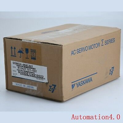 NEW IN BOX 1PC Yaskawa SGMGH-09ACA61 Servo Motor One year warranty