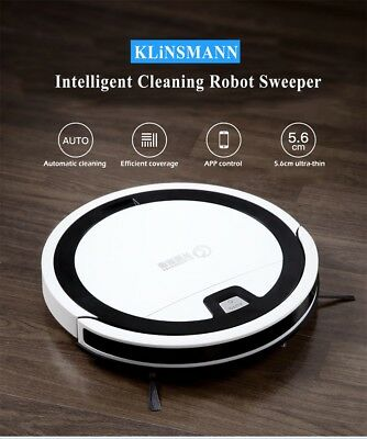 2in1 Vacuum Cleaner Intelligent Dust Cleaning Robot Automatic Remote Sweeper Mop