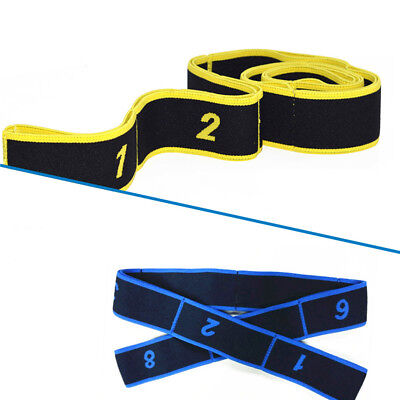 Latin Training Bands Pilates Yoga Stretch Fitness Elastic Band DanceWorkout Tool