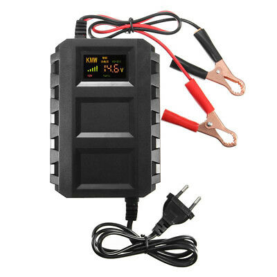 Intelligent 12V Automotive Battery Lead Acid Battery Charger For Car Motorcycle