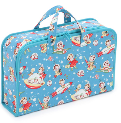Project Craft Case Retro Rocket Rascals By Hobby Gift