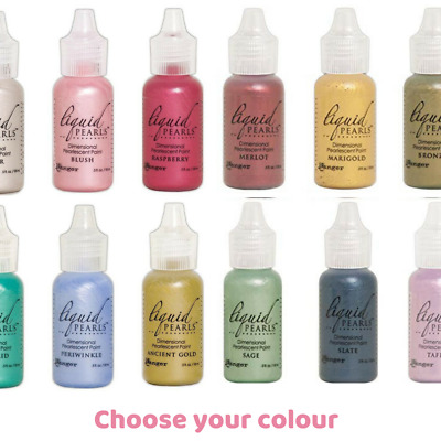 Ranger Liquid Pearls - Dimensional Pearlescent Paint 14.5 ml - Pick your own col