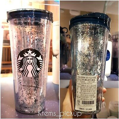Starbucks Korea 2018 Star glitters cold cup starbucks Venti tumbler 650ml 22oz