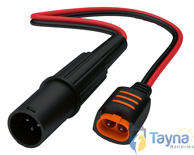 CTEK Mobility Scooter 3 Pin Connector (Comfort Connect XLR)