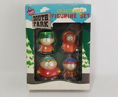 South Park Collectable Figurine Set Kyle Kenny Cartman Stan Figure 1998 Comedy
