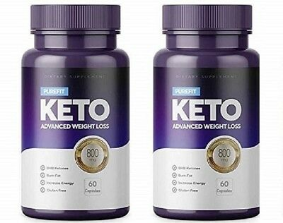 PUREFIT KETO ADVANCED WEIGHT LOSS 2X (60 Capsules) FREE SHIPPING WORLDWIDE
