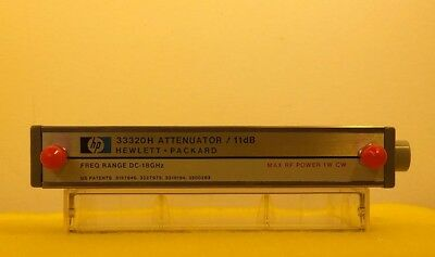 (RF1986) HP Programable Attenuator *  Model:  33320H * Frequency:  DC to18GHz