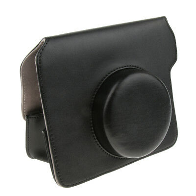 For Fujifilm Polaroid Wide 300 Instax Leather Film Camera Bag Pouch Case