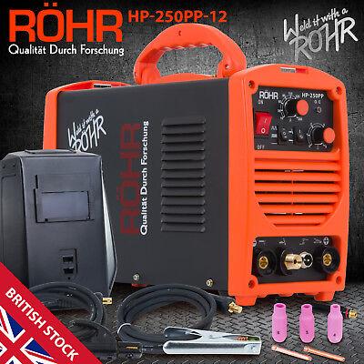 TIG ARC Welder Inverter MOSFET MMA 240V / 250 amp / DC Portable Machine - ROHR
