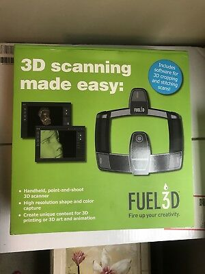 Fuel3D SCANIFY Handheld 3D Scanner System Accessories and Original Box!