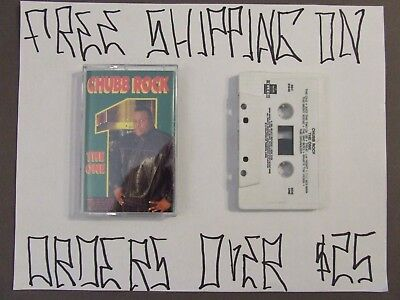 """Chubb Rock The One Cassette W/ """"Treat Em Right"""""""