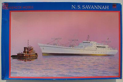 GLENCOE MODELS 08302 - N. S. SAVANNAH - 1:350 - Schiff Modellbausatz Ship KIT