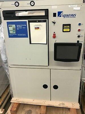 Aqueous Tech SMT-800LD SMT Batch Washer with Touch Screen
