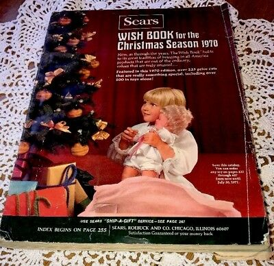1970 SEARS Wish Book Christmas Catalog