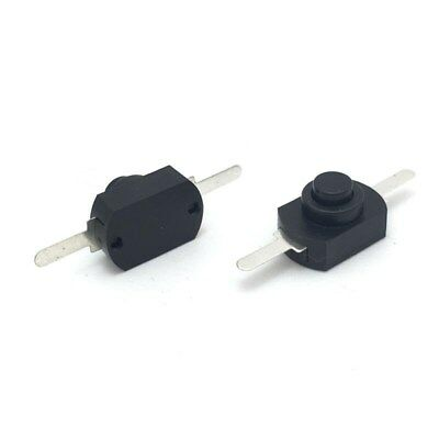 New 12V DC 1A 12* 8mm  On Off Push-Button Switch for Mini Electric Torch