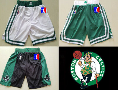 Boston Celtics NBA SHORTS PANTALONCINO swingman S->XXL Bird Garnett Thomas