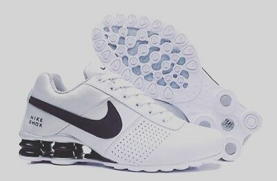 9ab822ee32a New Nike Shox Deliver Mens Shoes White Silver and Black Size 11